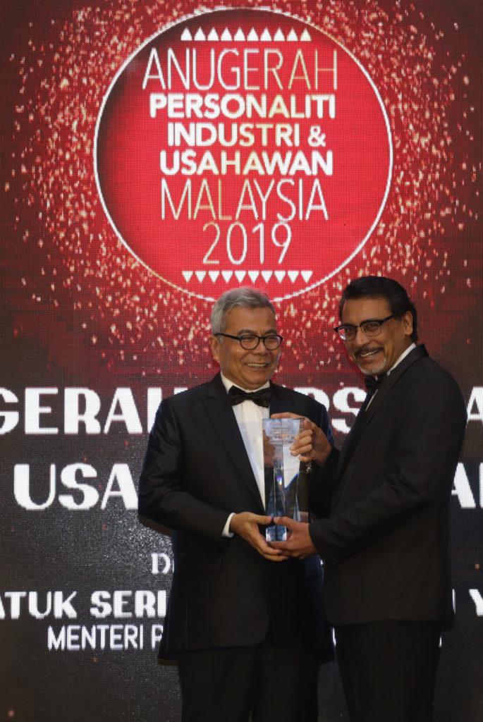 Anugerah Ikon Usahawan Tahunan (Pendidikan Keusahawanan) Tan Sri Dato' Professor Joseph Adaikalam