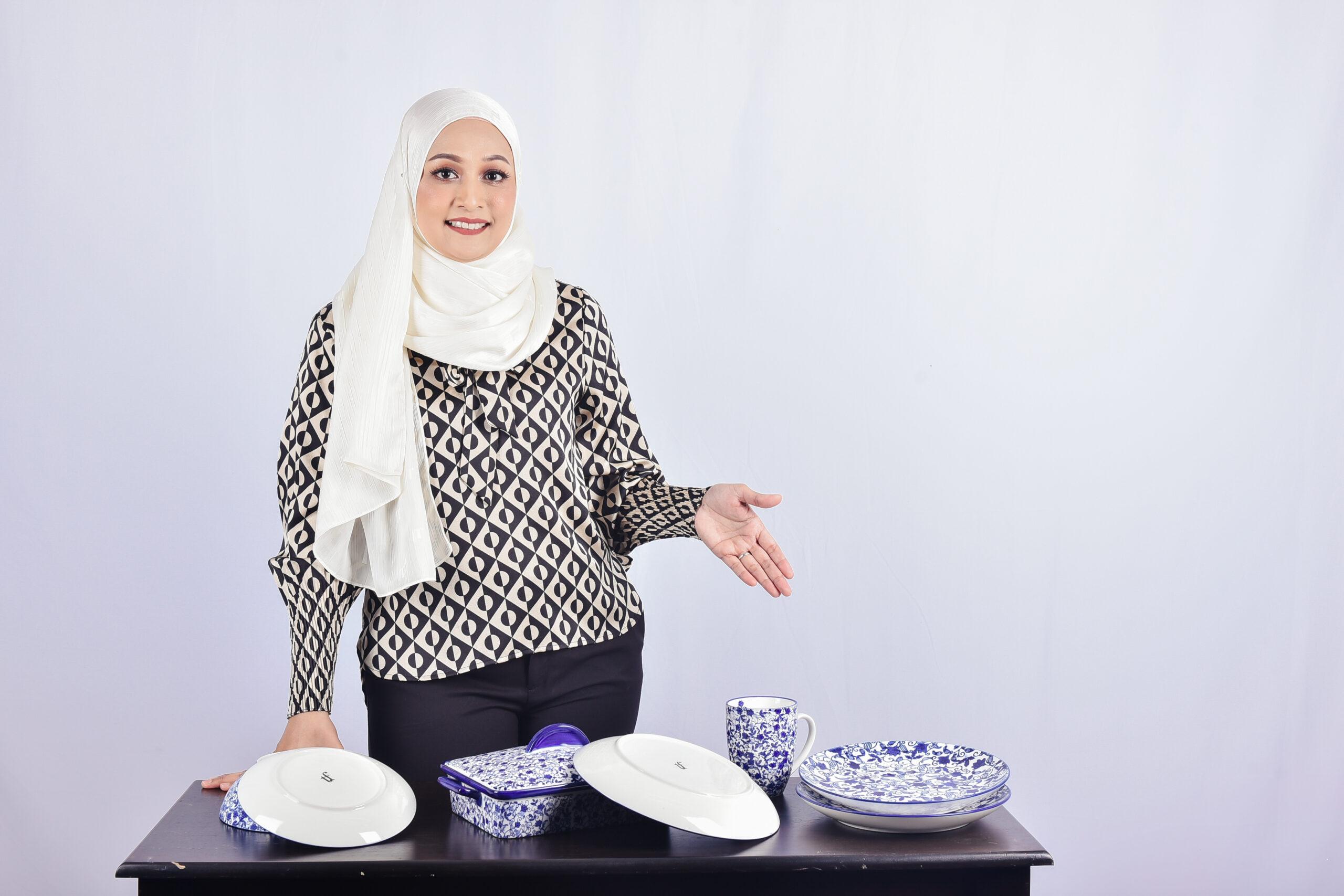 Tengku Fieza kini meletakkan sasaran untuk lebih mempelbagaikan produk-produk KHO di bawah jenama TF miliknya